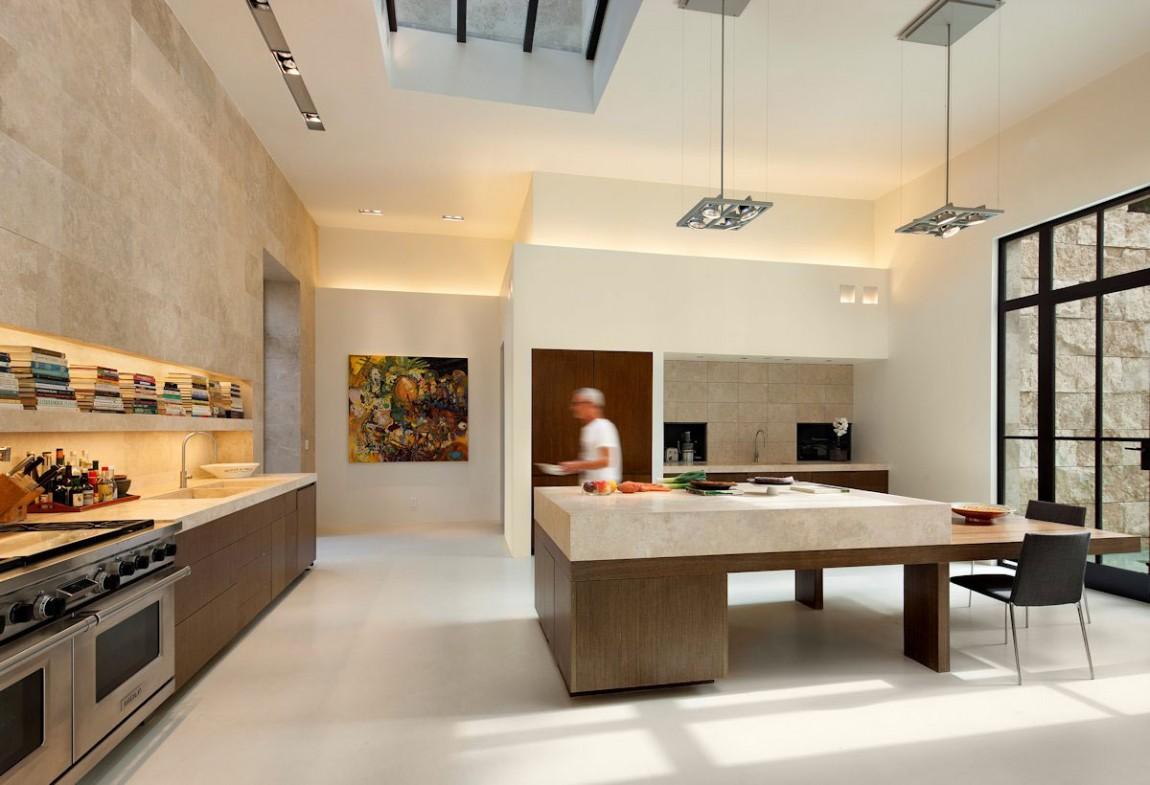 Мраморные столешницы для интерьера кухни - Фото 31