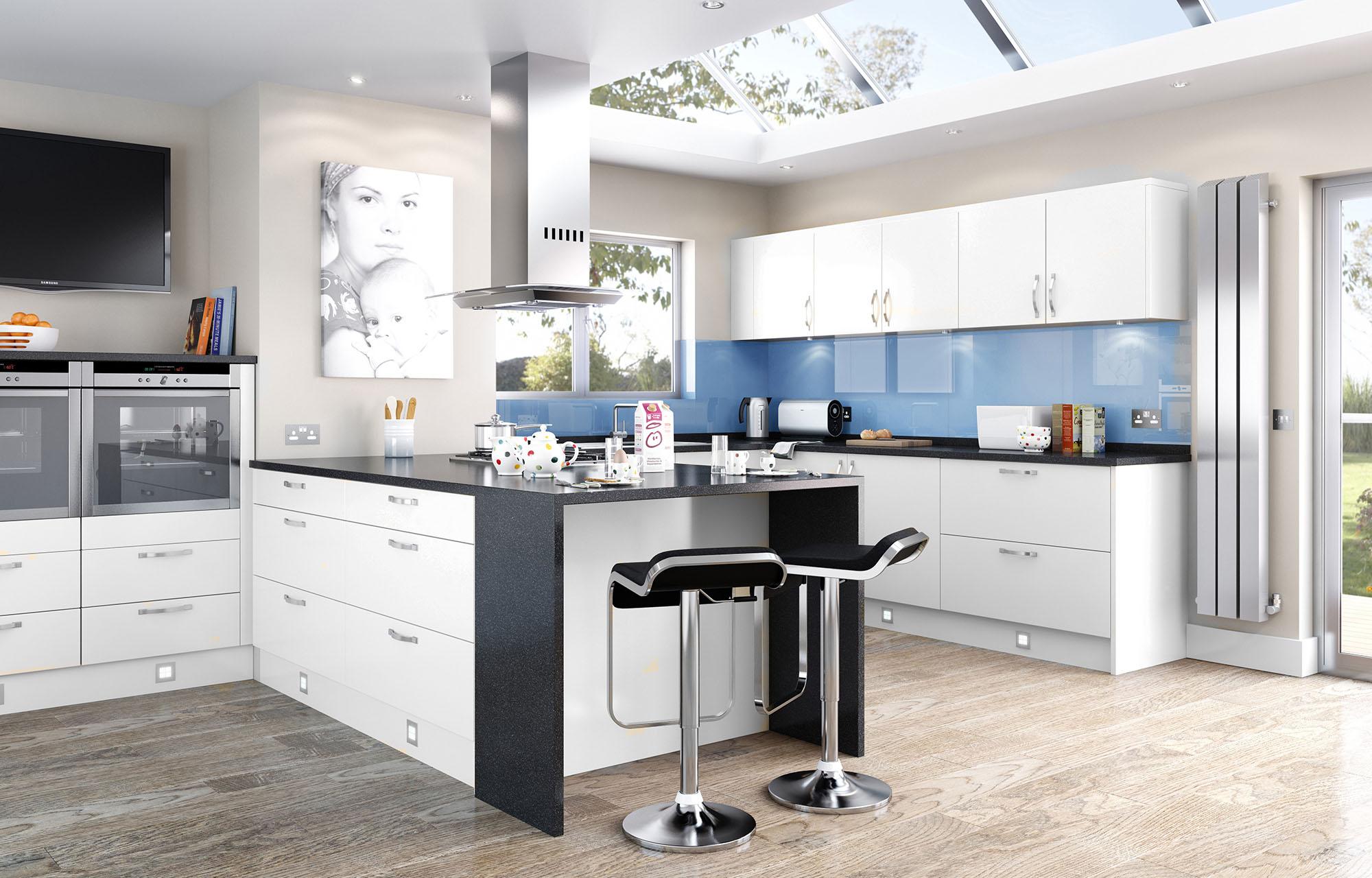 Мраморные столешницы для интерьера кухни - Фото 34