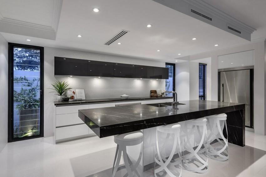 Мраморные столешницы для интерьера кухни - Фото 37
