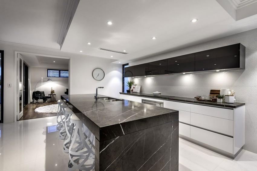 Мраморные столешницы для интерьера кухни - Фото 38