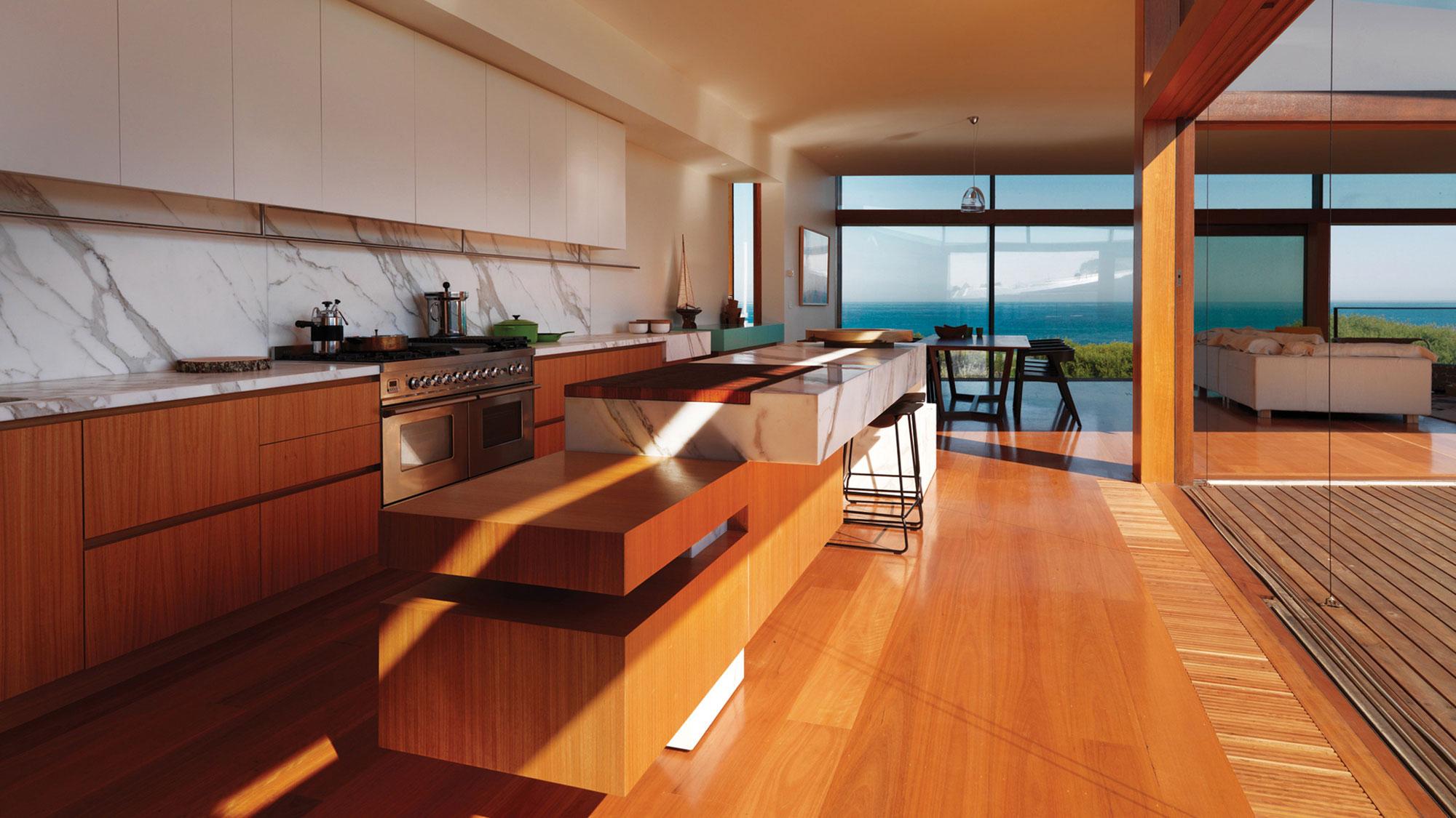 Мраморные столешницы для интерьера кухни - Фото 44