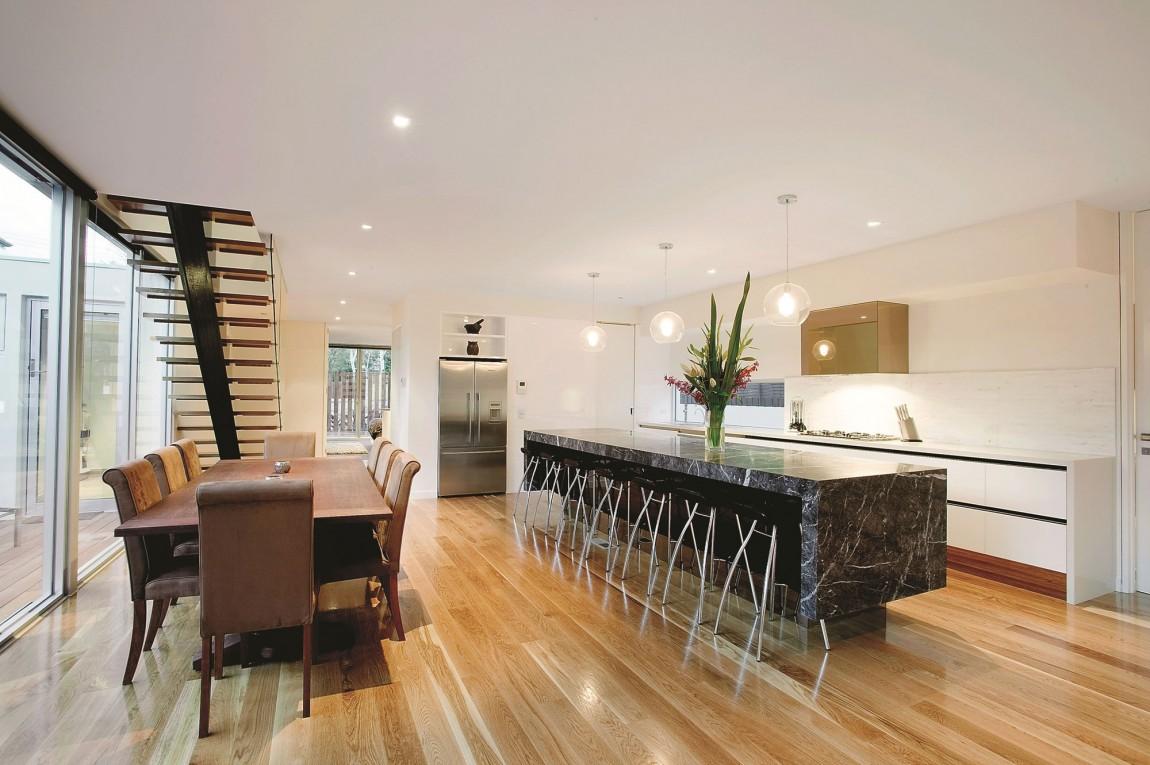 Мраморные столешницы для интерьера кухни - Фото 45