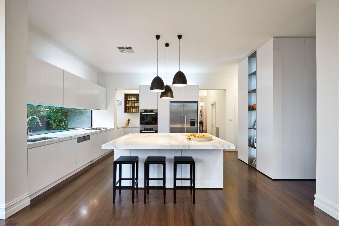 Мраморные столешницы для интерьера кухни - Фото 46
