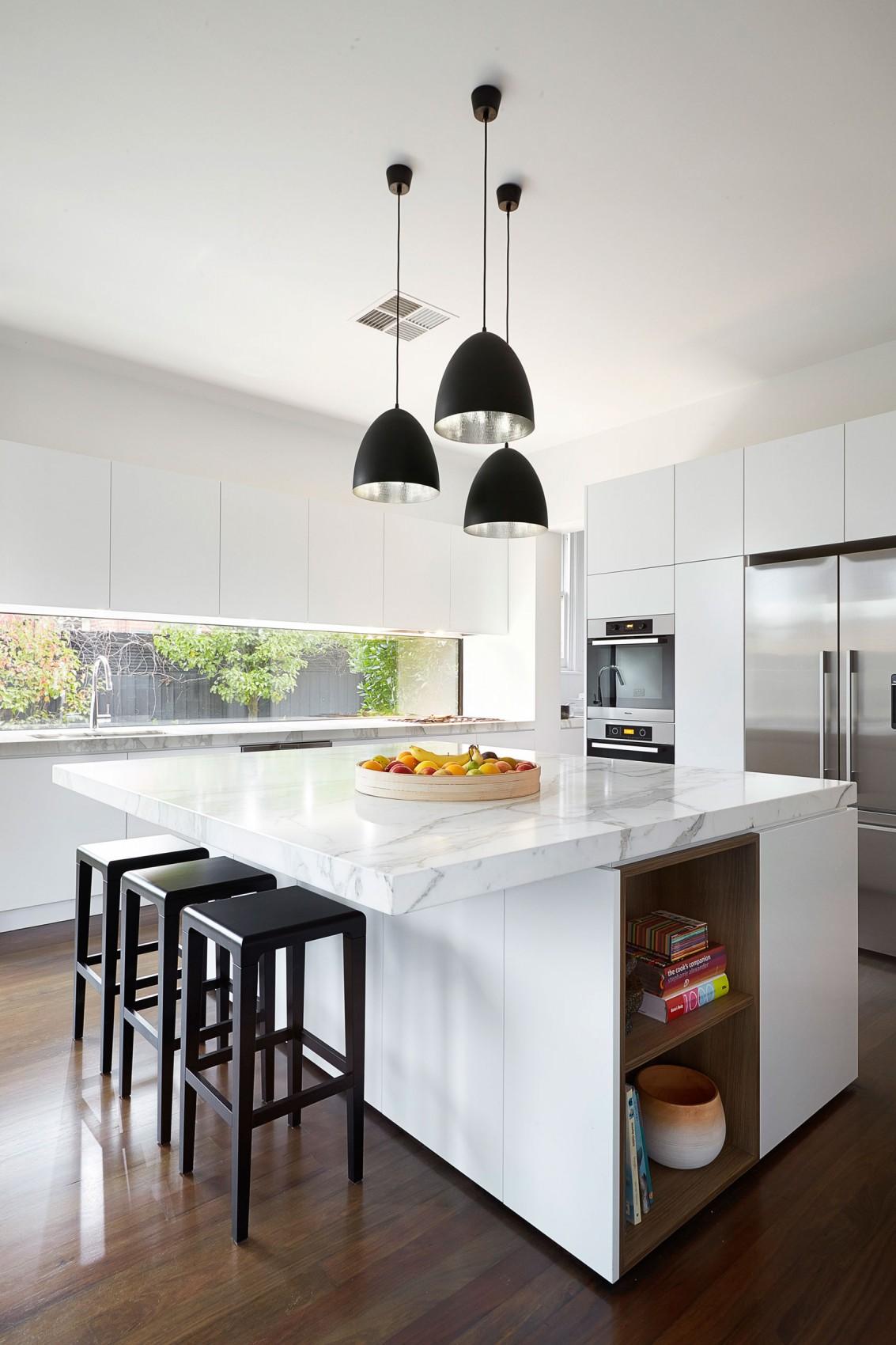 Мраморные столешницы для интерьера кухни - Фото 47