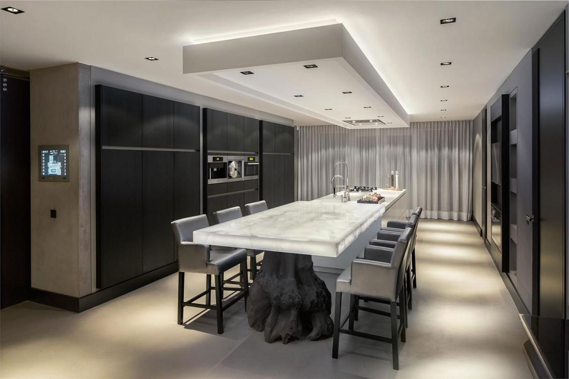 Мраморные столешницы для интерьера кухни - Фото 48