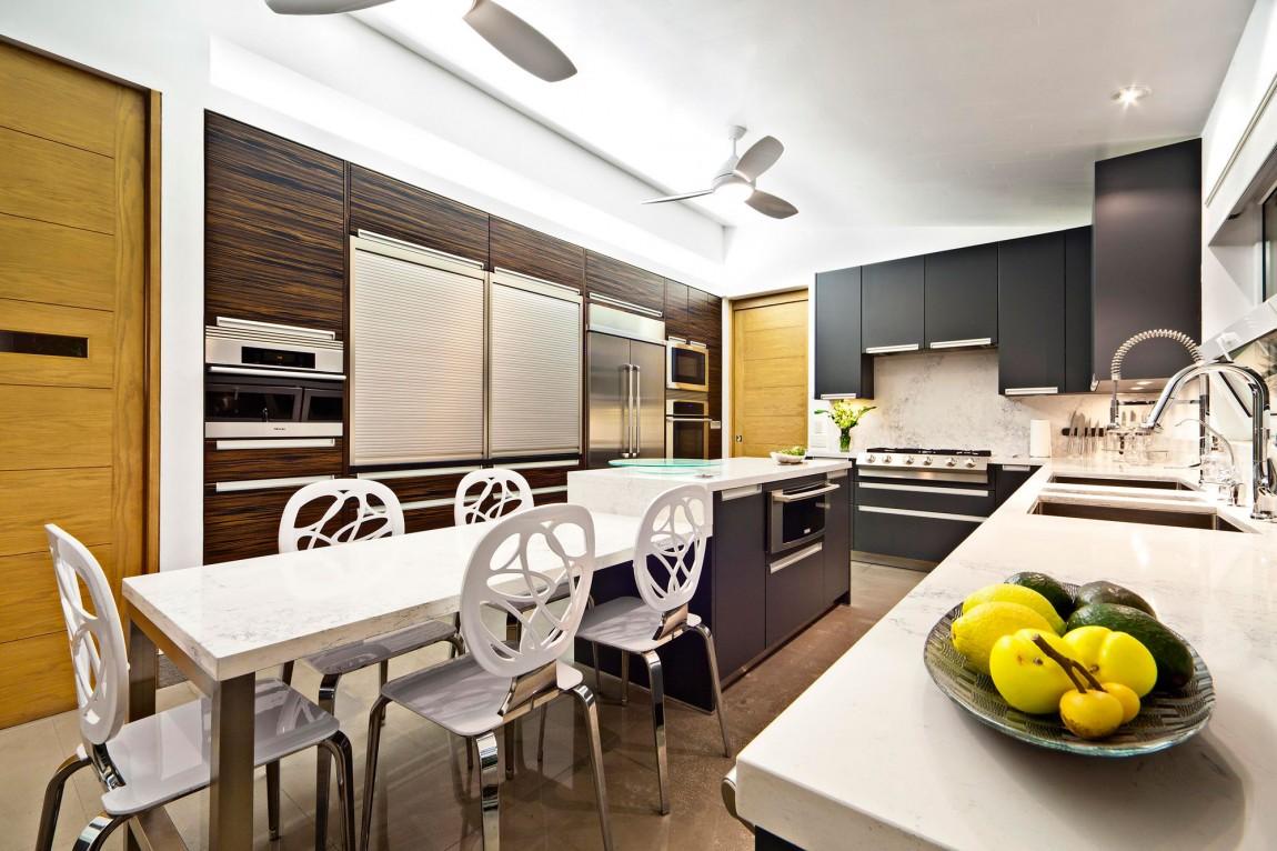 Мраморные столешницы для интерьера кухни - Фото 49
