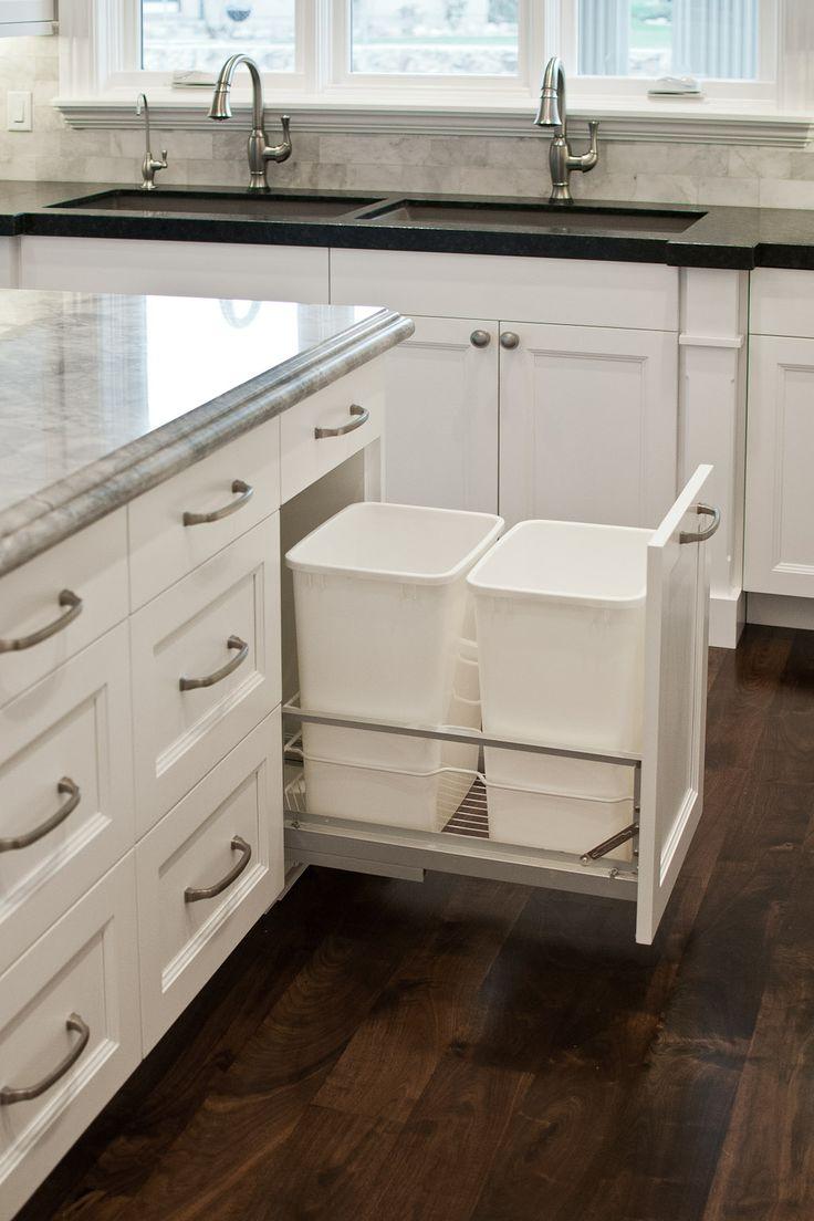 Стильные мусорные вёдра для кухни