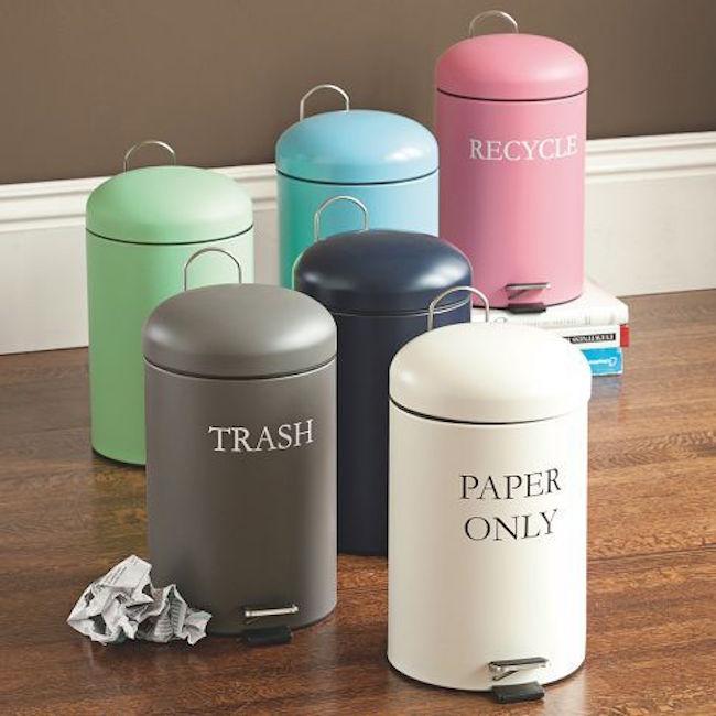 Вёдра для сортировки мусора