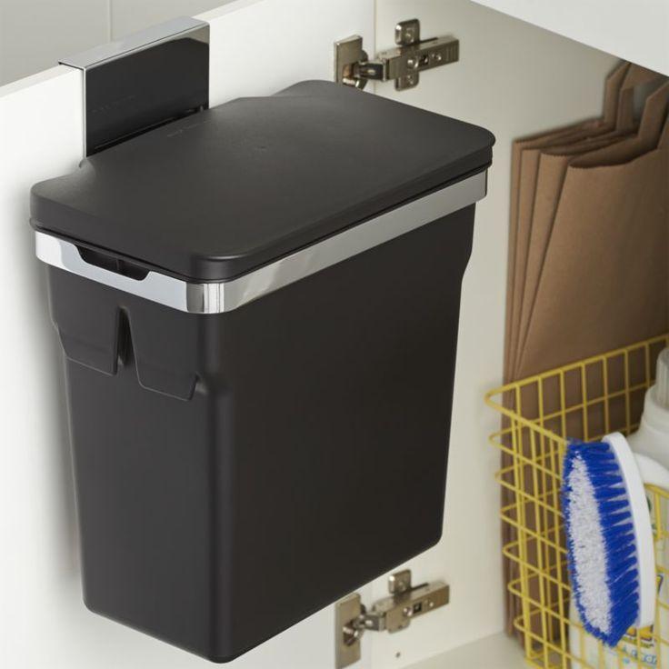 Подвесное мусорное ведро на кухне
