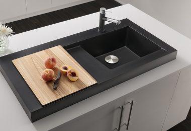 Модель накладной раковины для кухни