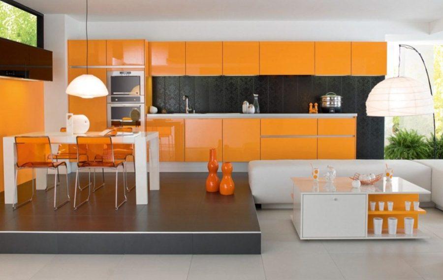 Кухонные шкафчики. Дизайн в различных цветах и стилях. Фото 1