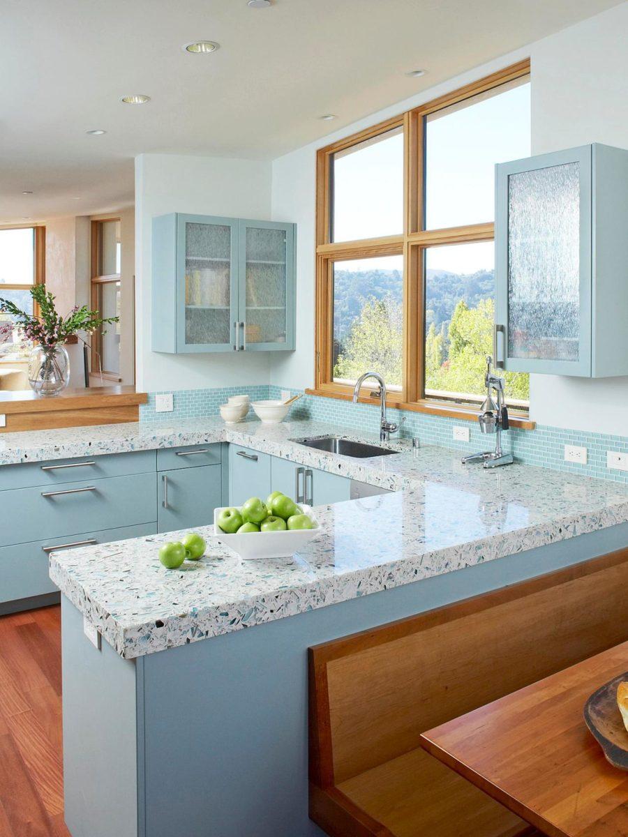 Кухонные шкафчики. Дизайн в различных цветах и стилях. Фото 2