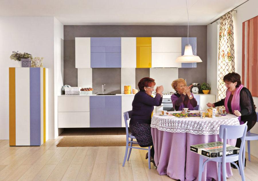 Кухонные шкафчики. Дизайн в различных цветах и стилях. Фото 5