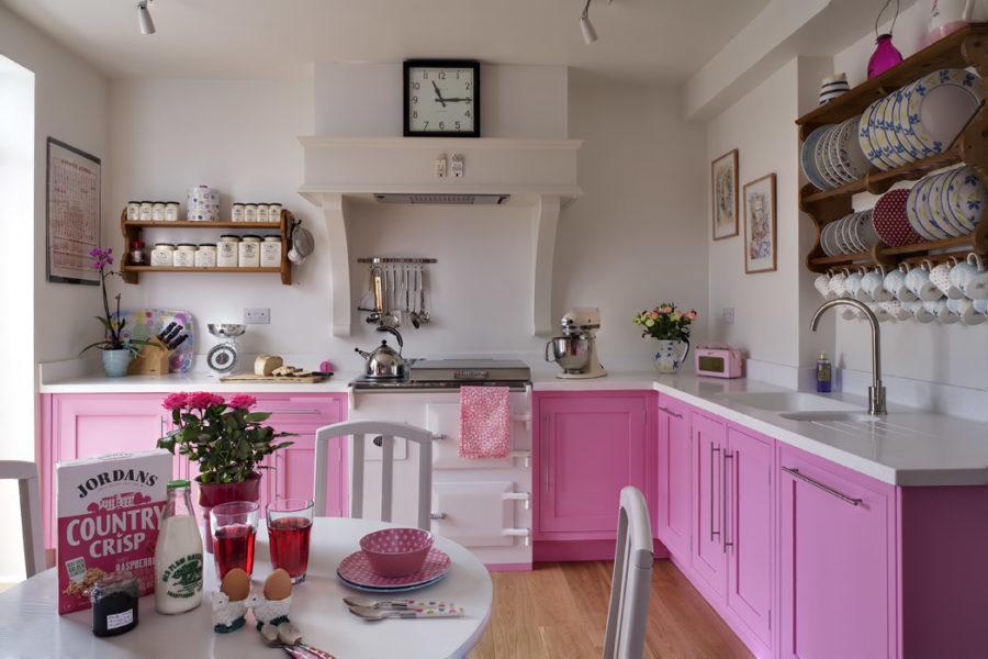 Кухонные шкафчики. Дизайн в различных цветах и стилях. Фото 6