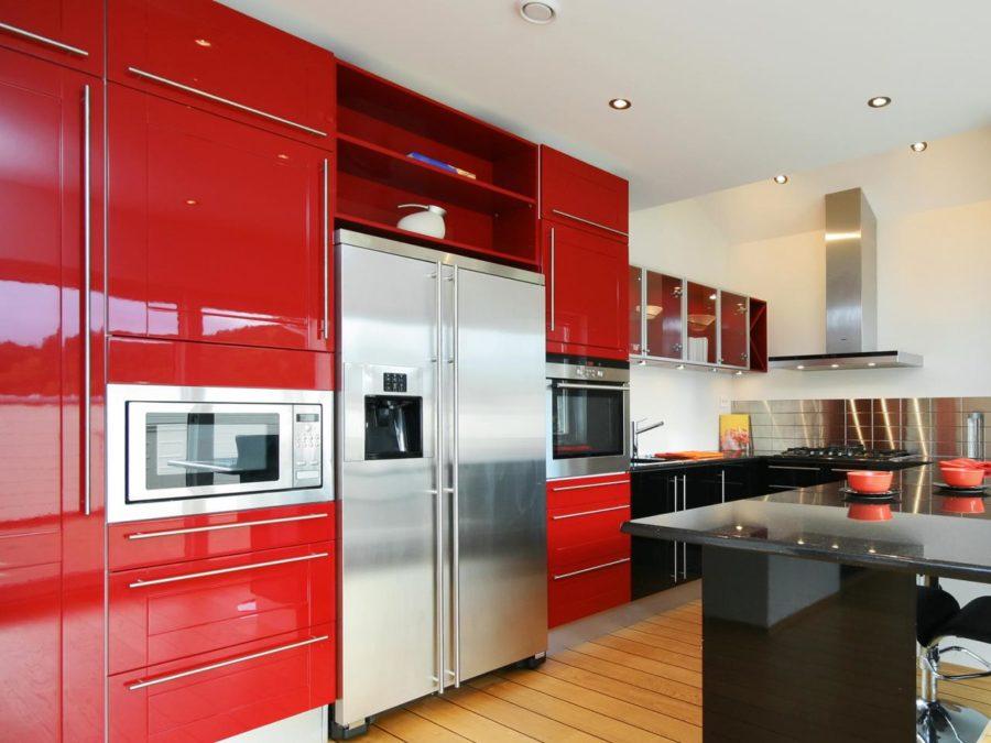 Кухонные шкафчики. Дизайн в различных цветах и стилях. Фото 9