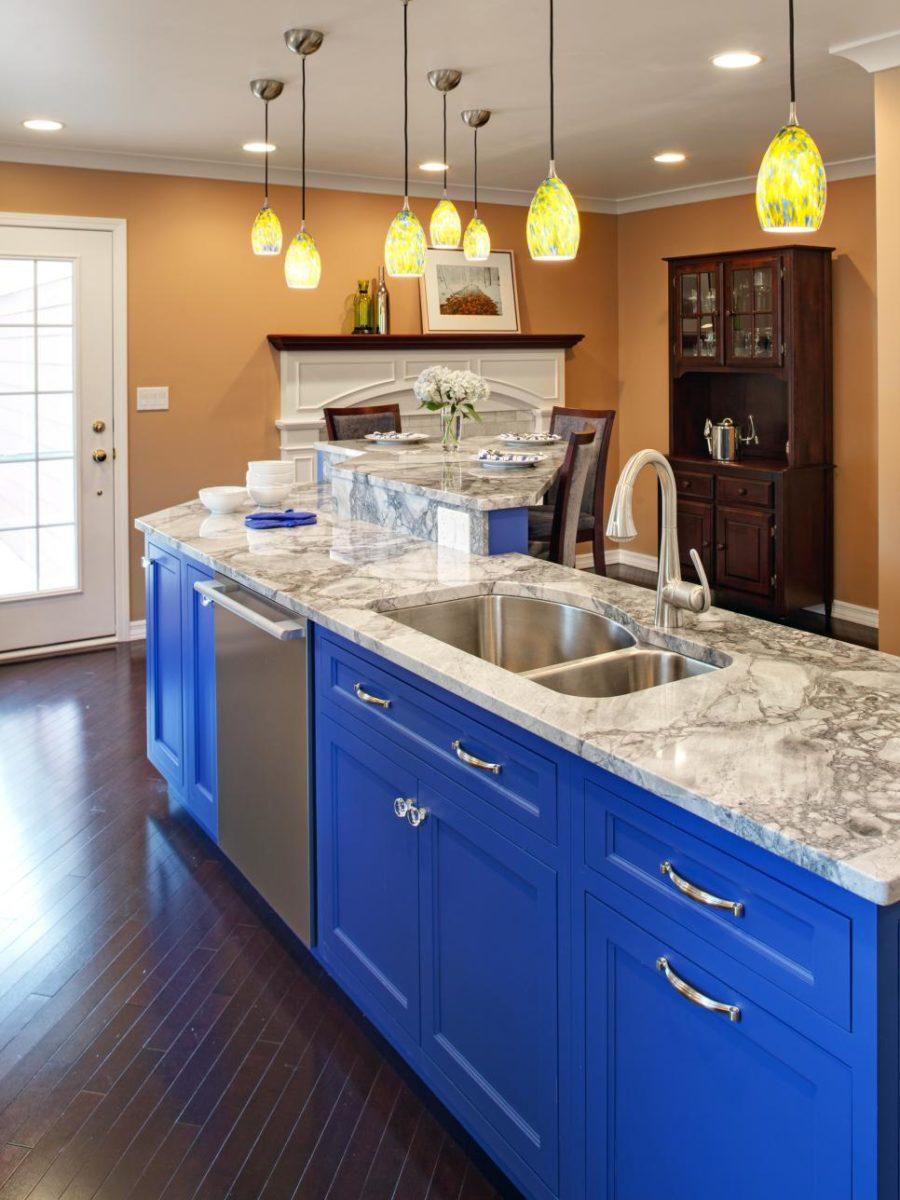 Кухонные шкафчики. Дизайн в различных цветах и стилях. Фото 10