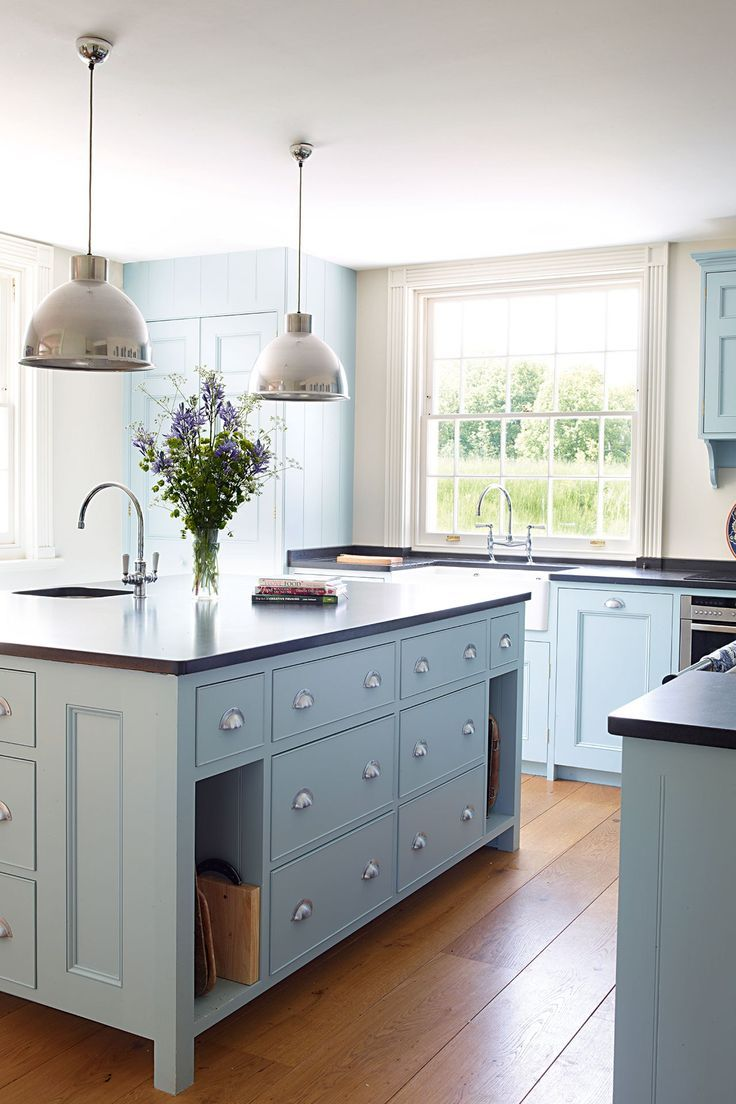 Кухонные шкафчики. Дизайн в различных цветах и стилях. Фото 11