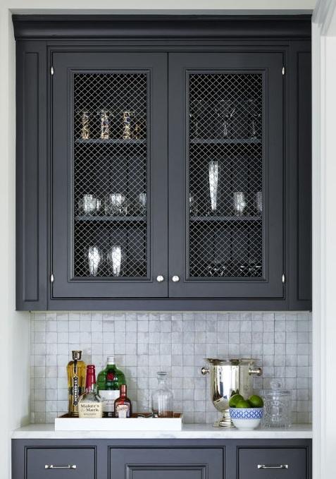 Кухонные шкафчики. Дизайн в различных цветах и стилях. Фото 12