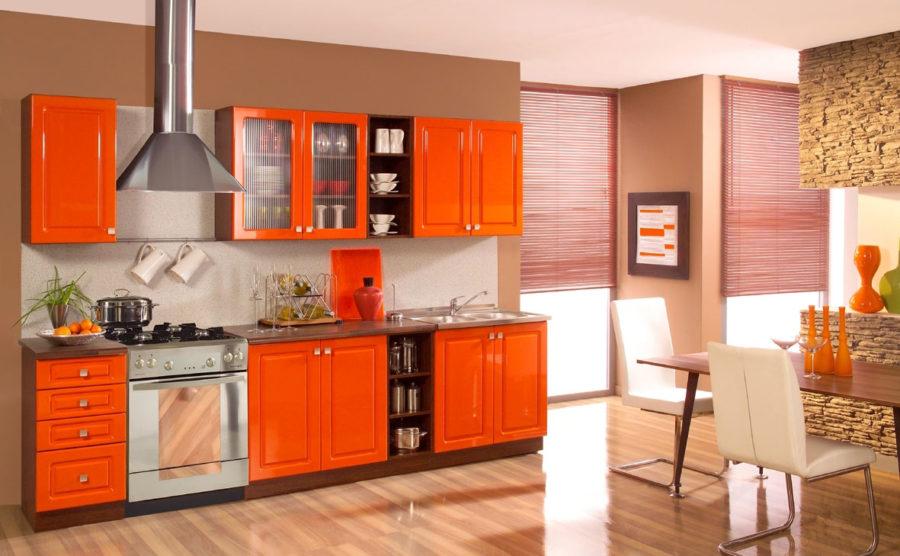 Кухонные шкафчики. Дизайн в различных цветах и стилях. Фото 13