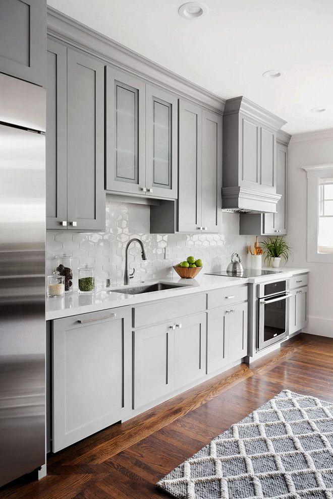 Кухонные шкафчики. Дизайн в различных цветах и стилях. Фото 15