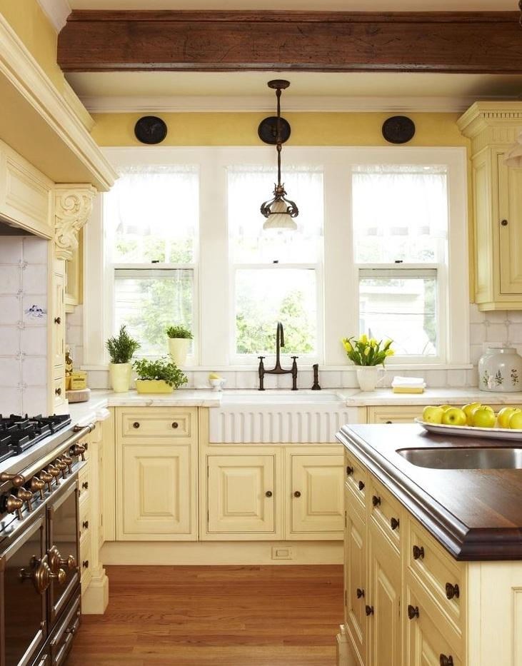 Кухонные шкафчики. Дизайн в различных цветах и стилях. Фото 18