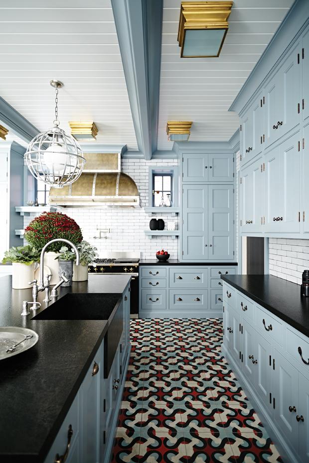 Кухонные шкафчики. Дизайн в различных цветах и стилях. Фото 21