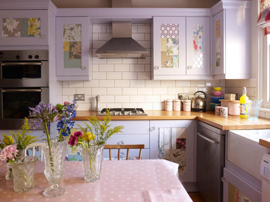 Кухонные шкафчики. Дизайн в различных цветах и стилях. Фото 24