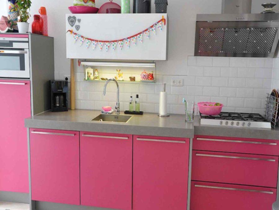 Кухонные шкафчики. Дизайн в различных цветах и стилях. Фото 25