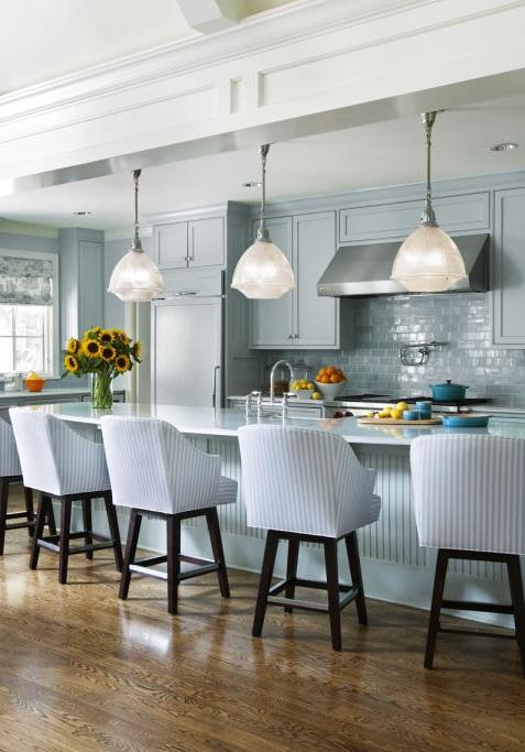 Кухонные шкафчики. Дизайн в различных цветах и стилях. Фото 27