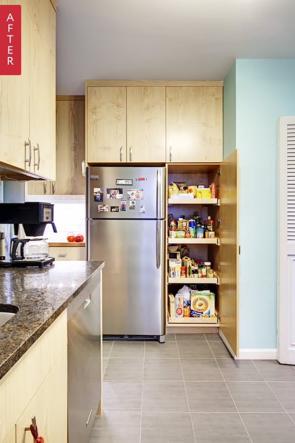 Новая кухня на основе старой, псле смены интерьера