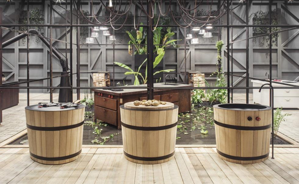 Новая кухонная коллекция для террас и патио
