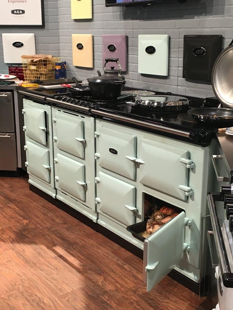 Тенденции дизайна для кухни: кухонная плита Aga