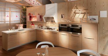 Новый дизайн деревянной кухни от известных дизайнеров
