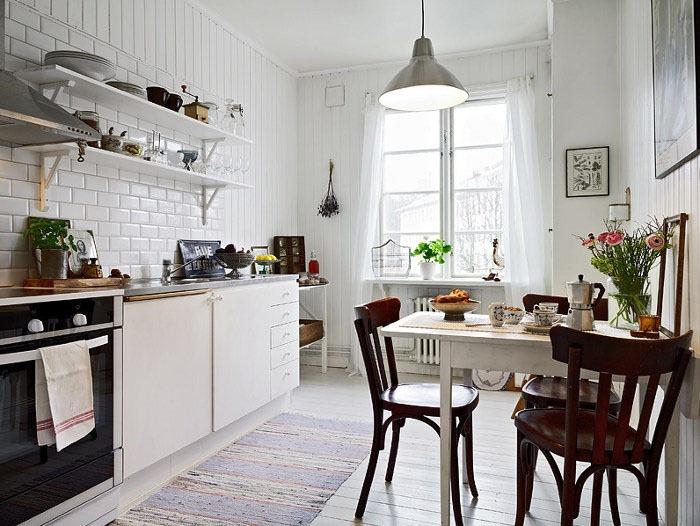 Кухни тренды: вариант скандинавской кухни