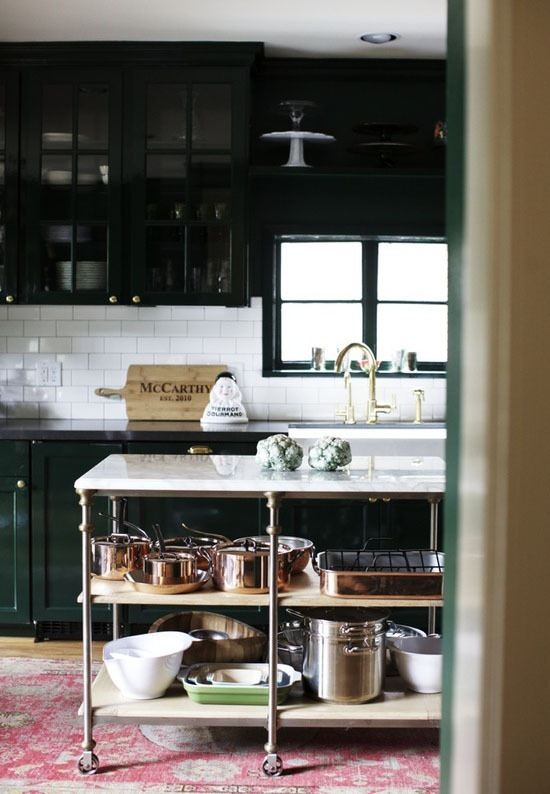 Кухни тренды: совершенство контраста