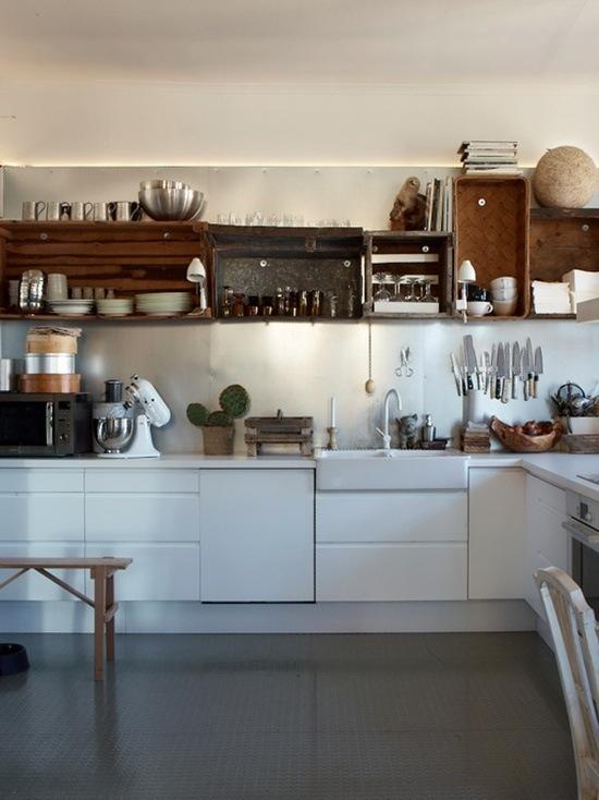 Кухни тренды: симпатичный бохо-стиль