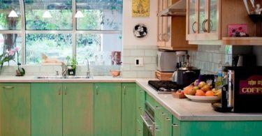 Кухни тренды: в зелёном цвете