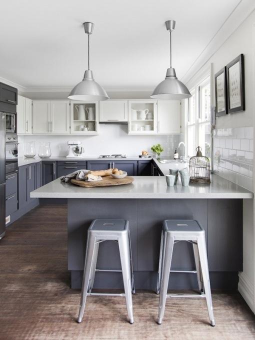 Кухни тренды: перспективу создают верхние шкафчики