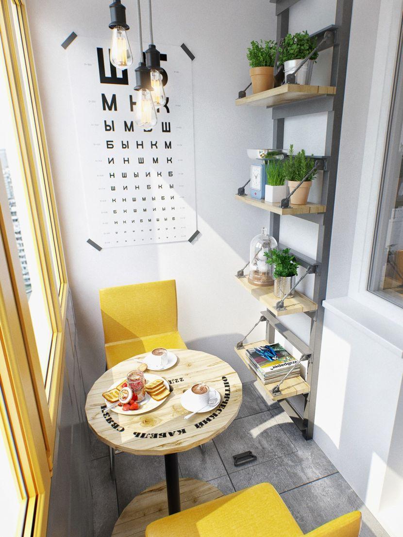 Обеденное место на кухне с эркером - уютный гарнитур. Фото 5