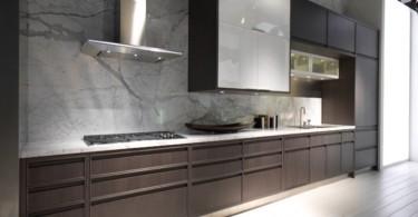 Минималистский дизайн интерьера кухни