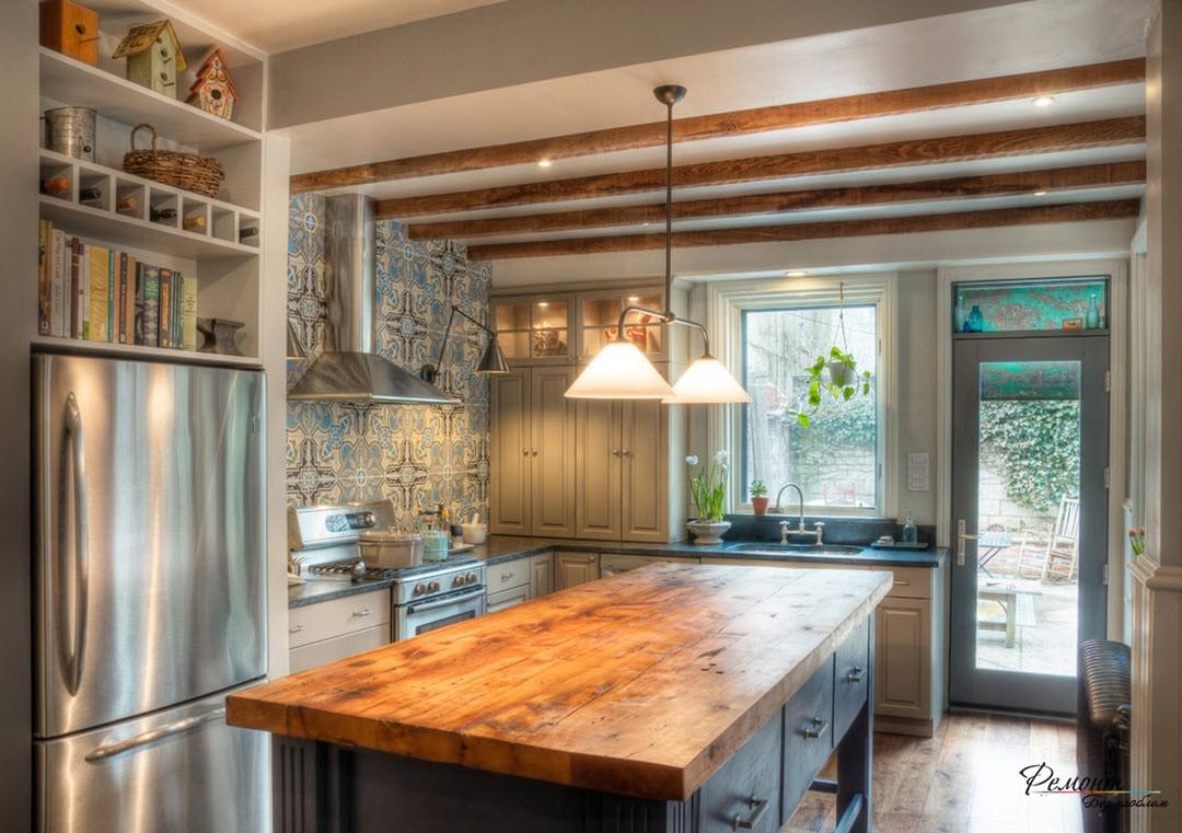 Столешница из дерева для кухонного острова столешница клен мурнау