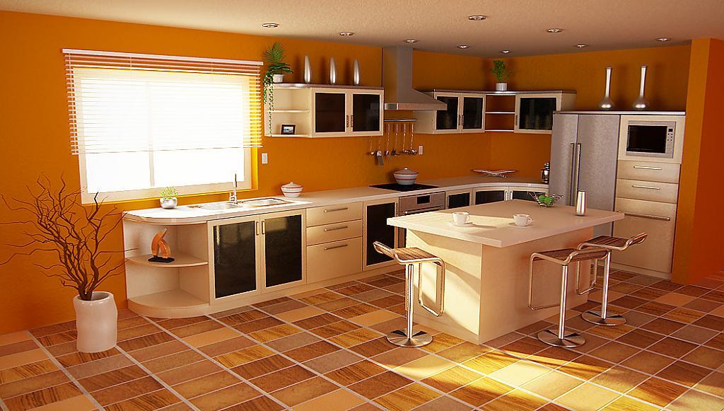 какие бывают полы на кухне фото