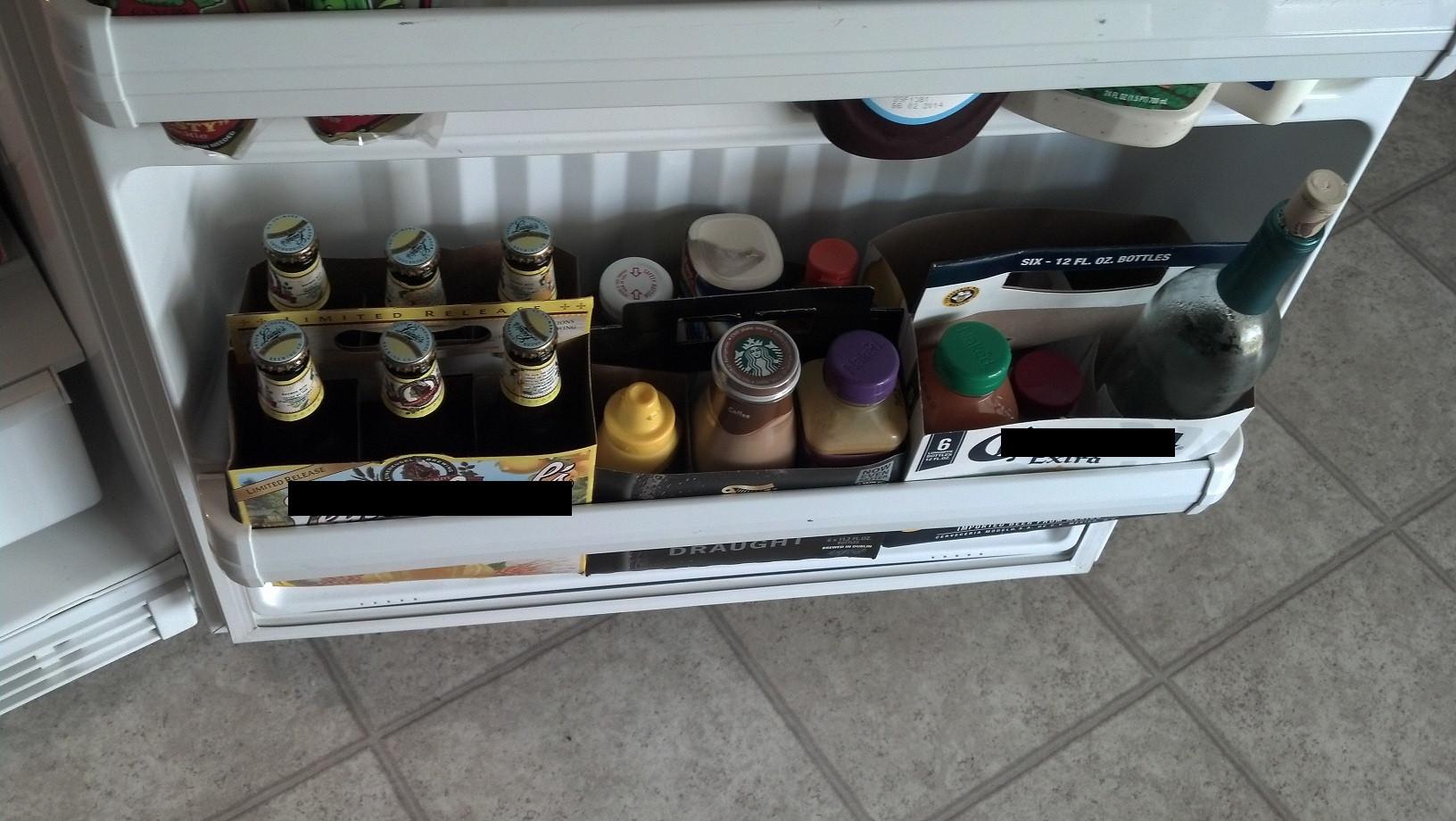 Пиво в картонной коробке