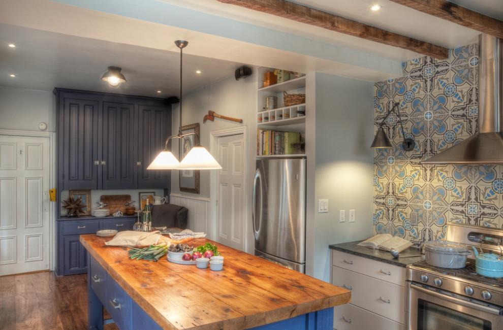 Полки для хранения над холодильником от Buckminster Green LLC
