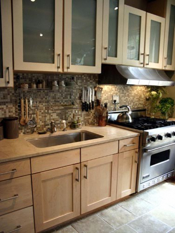 Кухонная зона от Rebekah Zaveloff | KitchenLab