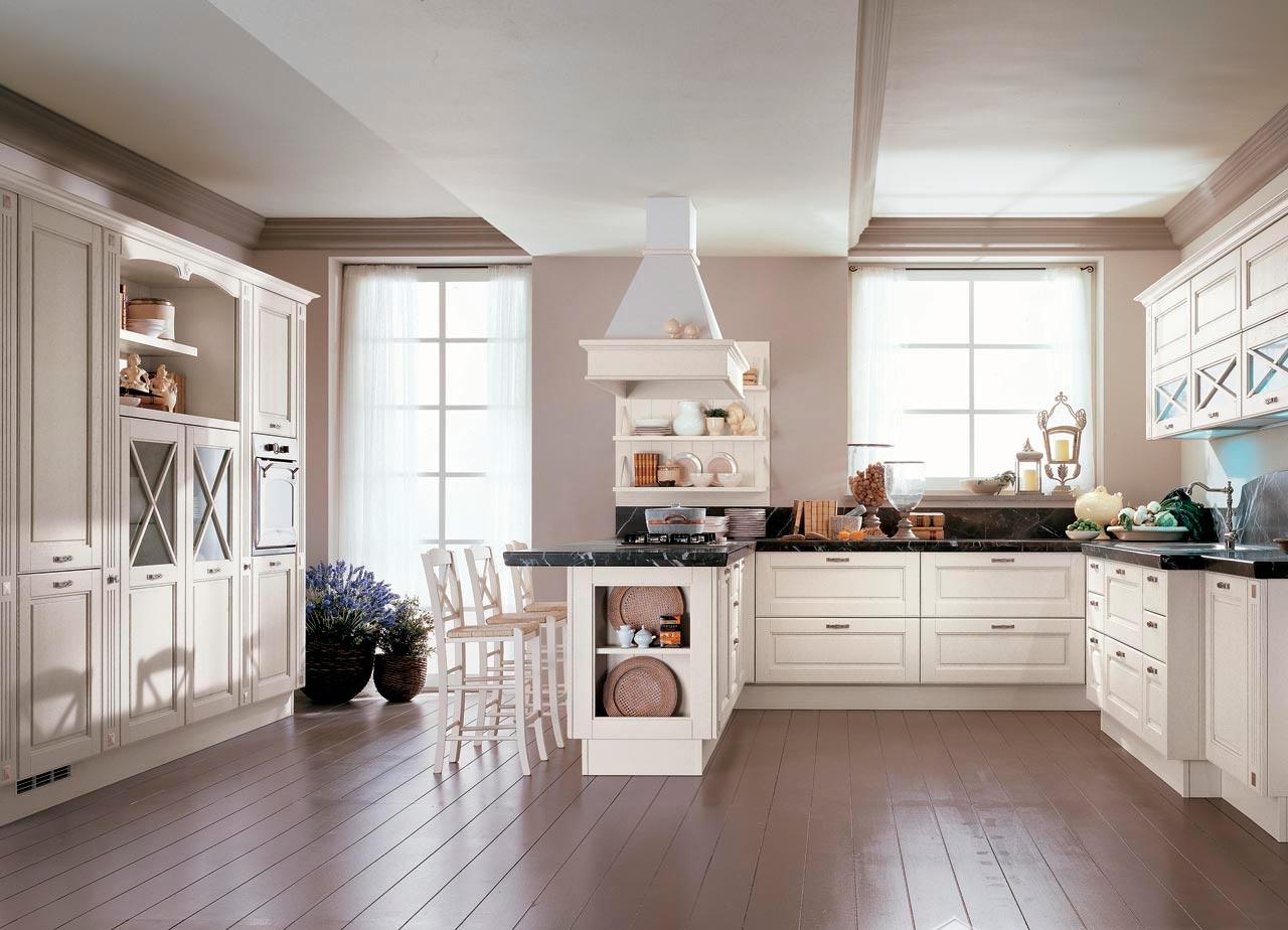 Хранение на кухне - лучшие идеи с открытыми полками