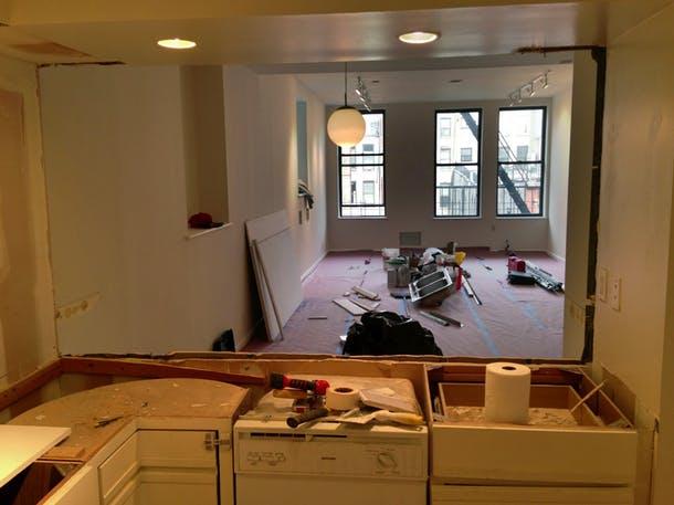 Кухня во время перестройки