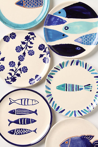 Тарелки с рисунками