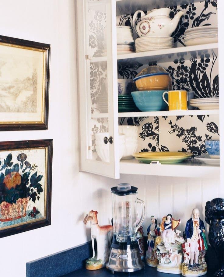 Идеи недорогого ремонта кухни: двухцветная кухня