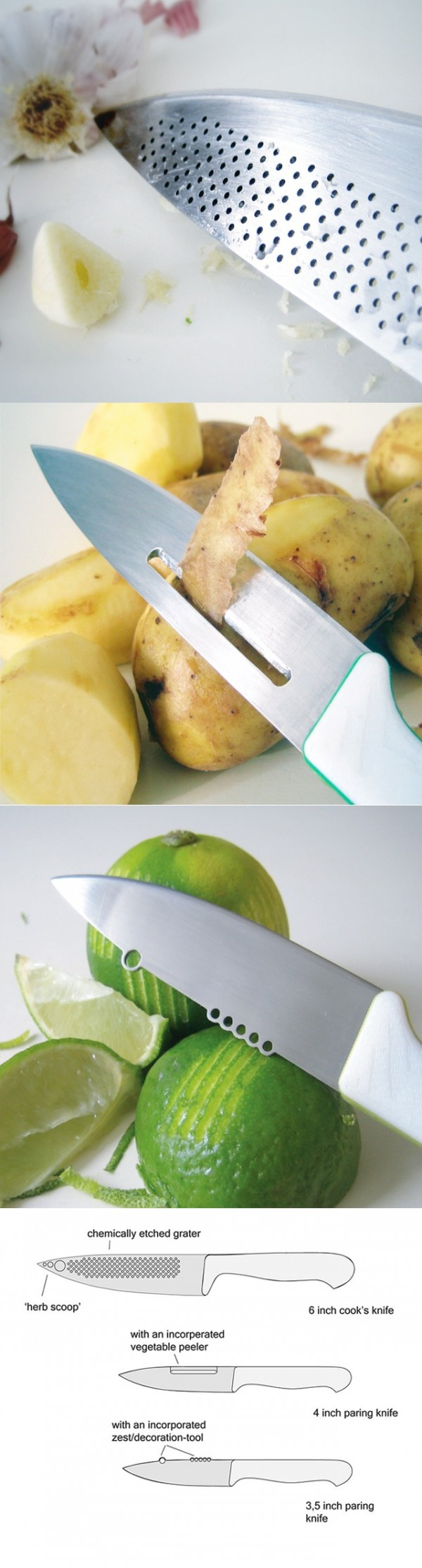 Оригинальные ножи для кухни - Фото 30